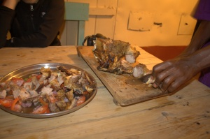 Nyama Choma servings